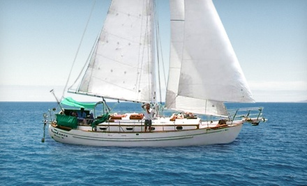 $155 for a Half-Day Sailing Charter for Up to Six from Sundance Sailing ($330 Value)