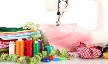 Verde Musgo — Algés: workshop de iniciação à costura para uma ou duas pessoas desde 22,90€