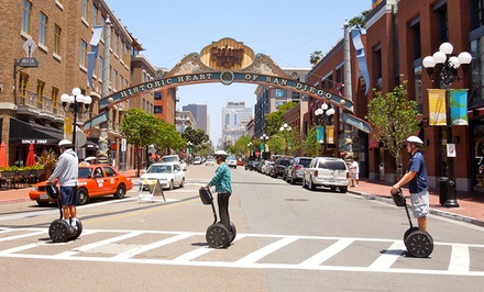 Downtown Gaslamp Waterfront or Balboa Park Segway Tour from San Diego Segway Tours by Wheel Fun Rentals (Up to 51%Off)