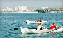 $49 for Rowing Lesson for Two, One-Hour Boat Rental, and Water Bottles at Phins Water Sports Club ($110 Value)