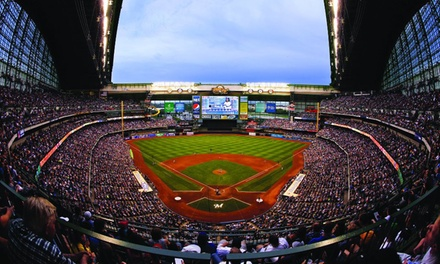 One Ticket to a Milwaukee Brewers Game at Miller Park (Up to 55% Off). Five Games Available.