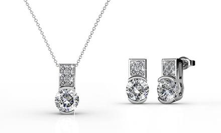 Brincos, colar com pendente ou anel com Swarovski Elements desde 12,99€ ou conjunto desde 19,99€