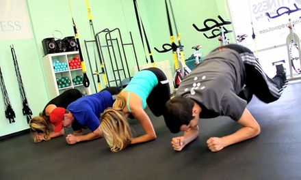 5 or 10 Fitness Classes at SELF Fitness South Bay (Up to 54% Off)