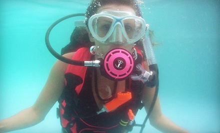 Scuba Certification with Magazine Subscription or Buoyancy Class at Sink or Swim Scuba in Gastonia (Up to 65% off)