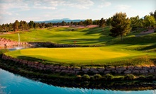 $34 for an 18-Hole Round of Golf with Cart Rental and Range Balls at Highland Falls Golf Course (Up to $79 Value)