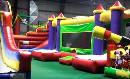 All-Day Indoor Bounce House for One, Two, or Four Kids at Inline 1 Bounce and Play (Up to 58% Off)