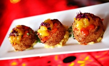 Global-Inspired Small-Plate Dinner for Two or Four at Red Tapas Bar & Grille (Up to 54% Off)
