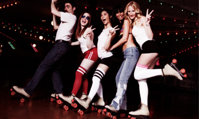Sk8 Hire - Multiple Locations: Roller Disco With Skate Hire and Soft Drink For Two, Four or Six from £5 at SK8 Hire (50% Off)
