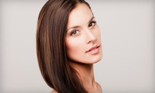 Haircut Package with Blow-Dry and Option of Deep-Conditioning or Shine Treatment at Shear Glamour Salon (Up to 58% Off)