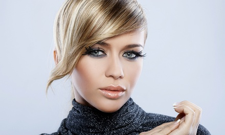 Haircut with Optional Partial Highlights or Full Color at 21 Salon & Spa (Up to 79% Off)