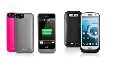 Mophie Helium Battery Case for iPhone 5/5S or Samsung Galaxy S3