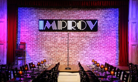 Stand Up for Two at Atlanta Improv Comedy Club & Dinner Theatre and $20 Credit at Stillhouse (Up to 55% Off)