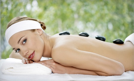 Moroccan Massage with Choice of Hot Stones and a Foot Mask or a Facial at Zenity Spa (55% Off)