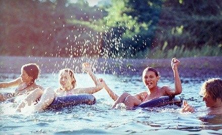 River Tubing with Tubes, Cooler Tube, and Shuttle Pass for Two or Four at Chuck's Tubes (Up to 53% Off)