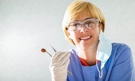 $49 for a Dental Exam with X-Rays and Teeth Cleaning at Skyline Smiles ($275 Value)