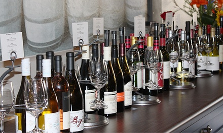 Wine with Small Bites Platter or Four-Course Reserve Wine and Cheese Tasting at Capri Cellars (Up to 50% Off)