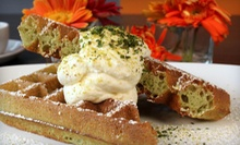 $19 for Brunch with Milk Shakes or Orange Juice for Two at Waffles (Up to $36.90 Value)