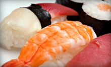 $15 for $30 Worth of Sushi and Japanese Food at Red Bar &amp; Sushi