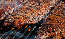 $21 for a Barbecue Dinner with an Appetizer and Drinks for Two at Marty's Bar-B-Q (Up to $43.39 Value)