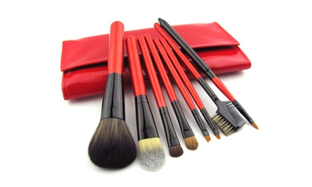 7-Piece Natural-Hair Makeup Brush Set