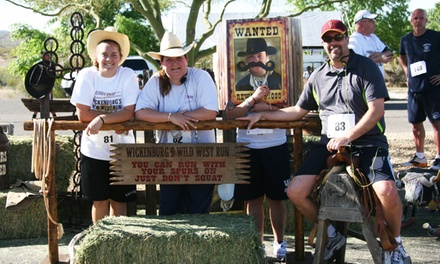 5K, 10K, or Half-Marathon Registration for Wickenburg's Wild West Run on April 12 (Up to53% Off). Three Options.