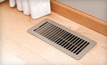 Duct Cleaning for 7 or 10 Vents or a Furnace Filter with Warranty from Cleaning Specialists of WNY (Up to 61% Off)