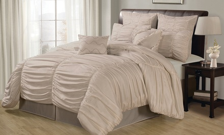 Danielle 8-Piece Oversized and Overfilled Comforter Set from $59.99–$69.99