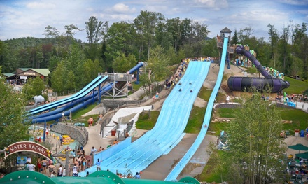 Admission and Splash Cash for Two or Four at Enchanted Forest Water Safari (Up to 39% Off)