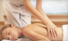 One or Two 60-Minute Massages at Massage District (Up to 53% Off)