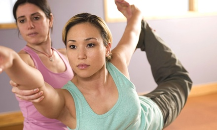 10 or 20 Yoga Classes at Amba Yoga (Up to 67% Off)