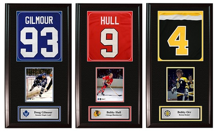 Frameworth NHL Legends Jersey Print Frames