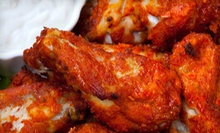 American Food at d.d. Peckers' Wing Shack (Half Off). Two Options Available.