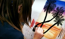 $30 for Four Children's Art Classes at Art with Larisse ($60 Value). Three Locations Available.