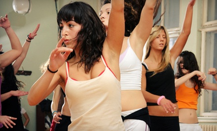 5 or 10 Zumba Classes at SheBoom Fitness (Up to 65% Off)