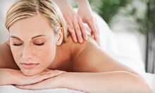 Massage and Foot Soak, or Massage, Foot Soak, and LED Light Therapy Facial at Millennium Salon & Day Spa (Up to 61% Off)