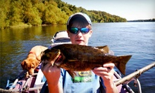 Fly-Casting Lesson for Three or Four-Hour Fishing Trip for Two from Virginia Fishing Adventures (Up to 51% Off)