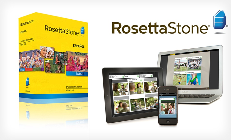 Rosetta Stone Chinese, French, German, Italian, or Spanish