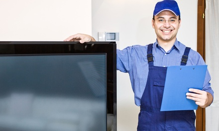 $164 for $299 Toward TV Mounting Services