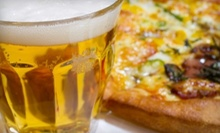 Pizza and Pitchers of Beer for Two, Four, or Six at Sidelines Sports Bar (Up to 55% Off)