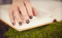 One or Three OPI Gel Manicures at Salon D'Mars with Julie Cotton (Up to 53% Off)
