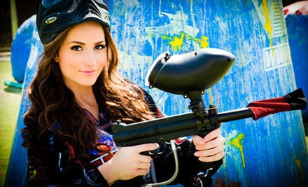$30 for Six Paintball Days for a Group or Individual with Rental Equipment from Paintball Tickets (Up to $240 Value)