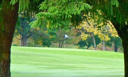 18 Holes of Golf for Two or Four, plus Food and Drink Credit at Lake Oswego Golf Course (Half Off)