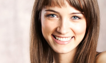 Haircut, Color, and Conditioning Services at Edge Salon (Up to 65% Off)