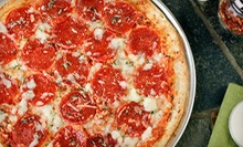 Family-Style Pizza Packages or $5 for $10 Worth of Pizza, Sandwiches, and Wings at Pudgies Eatery