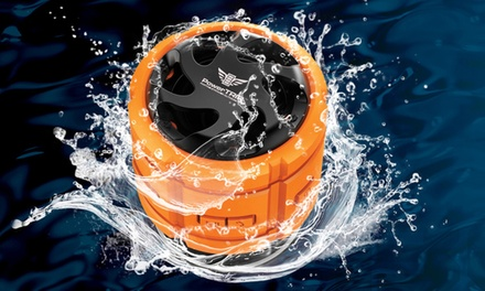 PowerTrip Boomr Waterproof Bluetooth Speaker