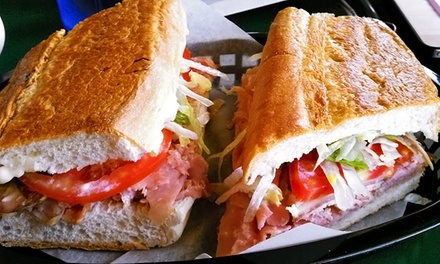 Up to 35% Off Great Sandwiches and Drinks at Givahoot Cafe