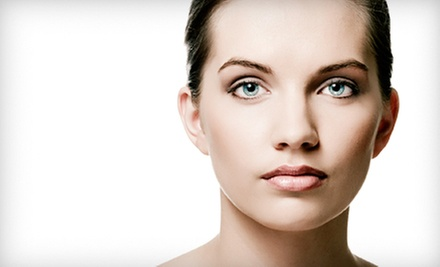 One or Six Anti-Aging Facial-Phototherapy Sessions with Mini Face-Lifts at The Wellness Oasis (52% Off)