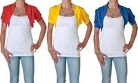 GROUPON: Ambiance Apparel Women's Bolero Shrug Cardigan Ambiance Apparel Women's Bolero Shrug Cardigan