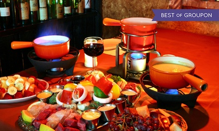 Fondue and Wine at Geja's Cafe (Up to 62% Off)