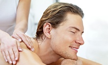 One or Three 60-Minute Massages or a Massage, Haircuts, and Hot Shave or Sports Mani-Pedi at The Man Spa (Up to 64% Off)